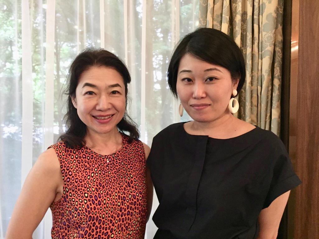 Yukiko Nakamura & Yuki Noguchi, exhibitors