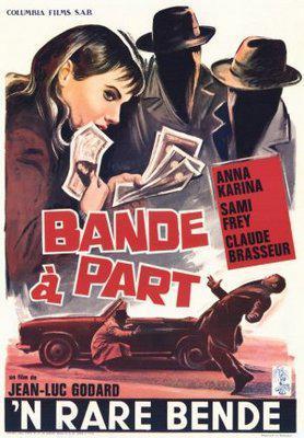 Bande à part - Poster Belgique