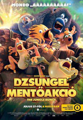 The Jungle Bunch - La Panda de la selva - Poster - Hungary