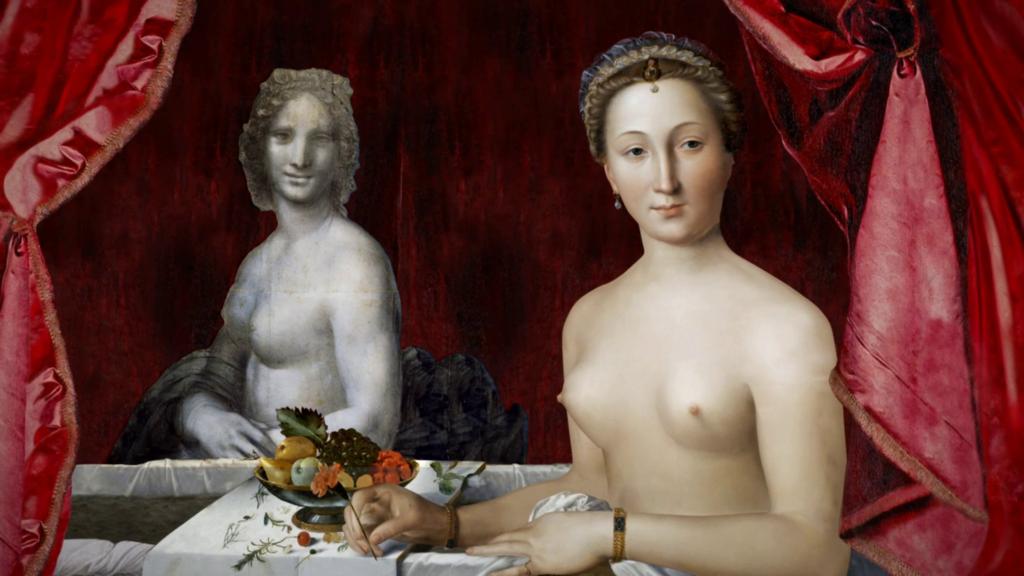 La Dame au bain, 1571, François Clouet