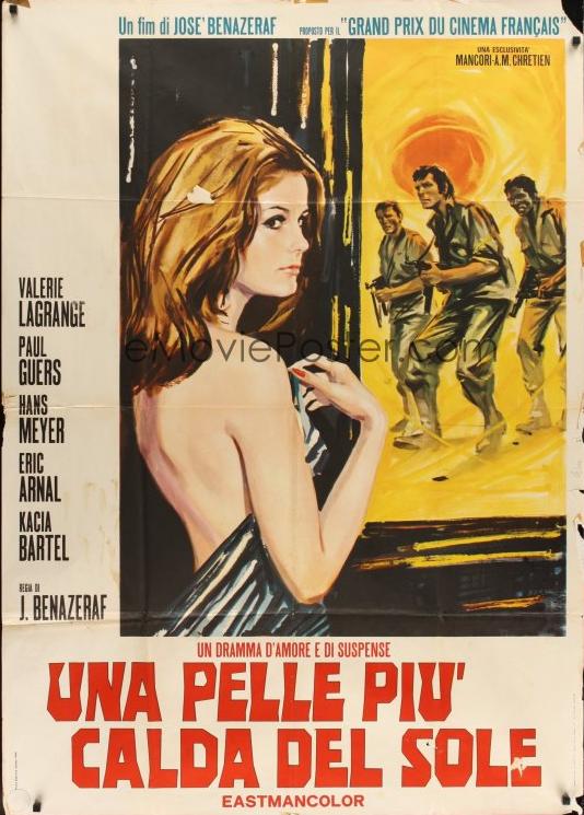 Un épais manteau de sang - Poster Italie
