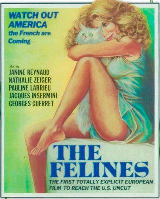 Les Félines - Jaquette DVD Etats-Unis