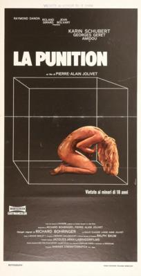 La Punition - Poster Italie