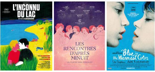 Trois affiches françaises parmi les plus belles de l'année