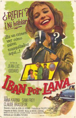 はなればなれに - Poster Espagne