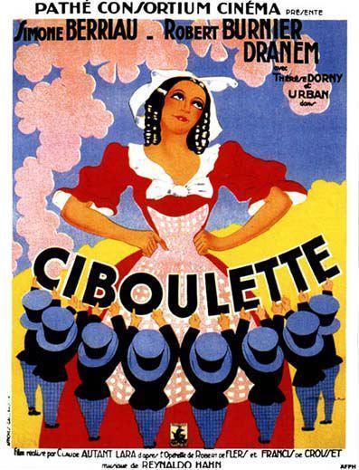 Ciboulette - Poster France