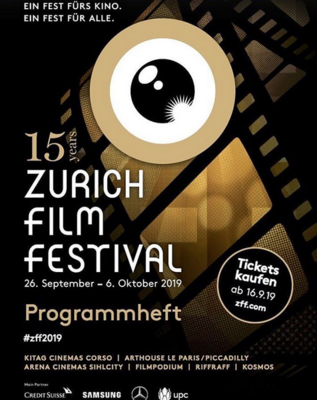 Festival de Cine de Zurich  - 2019