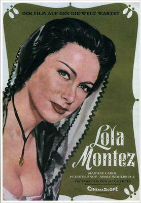 Lola Montès - Poster Allemagne