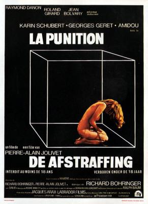 La Punition - Poster Allemagne