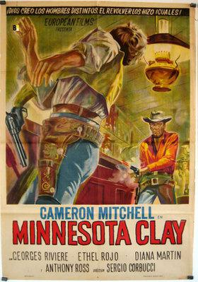 Minnesota Clay - Poster Espagne
