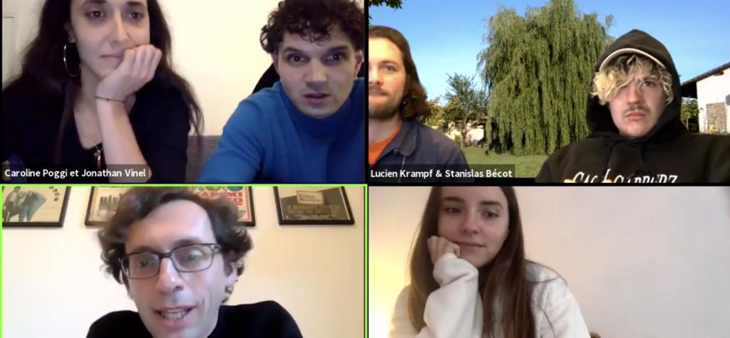 Conversation avec Caroline Poggi, Jonathan Vinel et l'équipe artistique de Bébé Colère