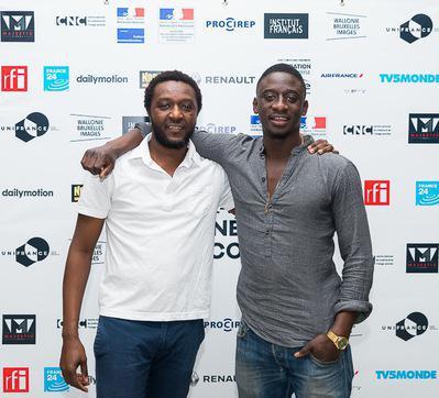 Review of the 1st Rendez-Vous with Francophone Cinema in Abidjan - Daouda Coulibaly et Ibrahim Koma, réalisateur et acteur de Wùlu - © GK Studios