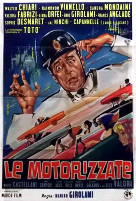 Le Motarizzate - Poster - Italie
