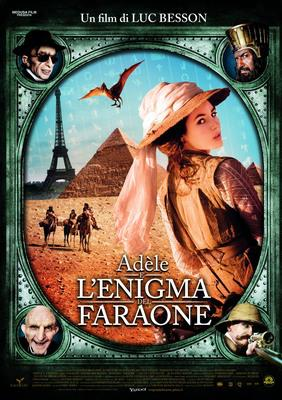 Extraordinary Adventures of Adèle Blanc-Sec/アデル/ファラオと復活の秘薬 - affiche Italie