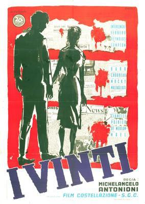 I Vinti (Les Vaincus) - Poster - Italy