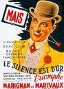 Le Silence est d'or - Poster France