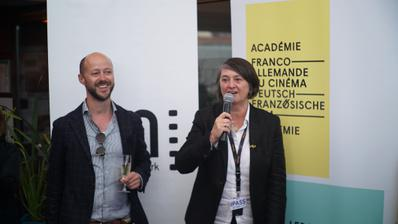 2018 Cannes Film Festival Portfolio - Cocktail des membres de l'Académie Franco-Allemande, présidée par Marie Masmonteil - © Veeren/BestImage/UniFrance