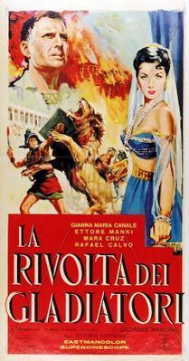 La Rebelión de los gladiadores - Poster - Italy