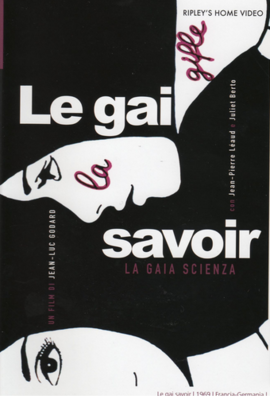 Le Gai Savoir - Jaquette DVD Etats-Unis