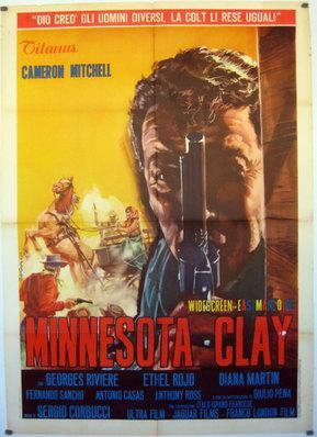 L'Homme du Minnesota (Le Justicier du Minnesota) - Poster Italie