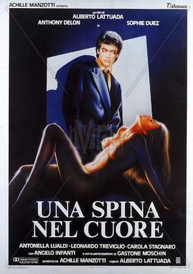 Une épine dans le coeur - Poster - Italie