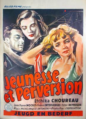 Los Vencidos (I vinti) - Poster - Belgium