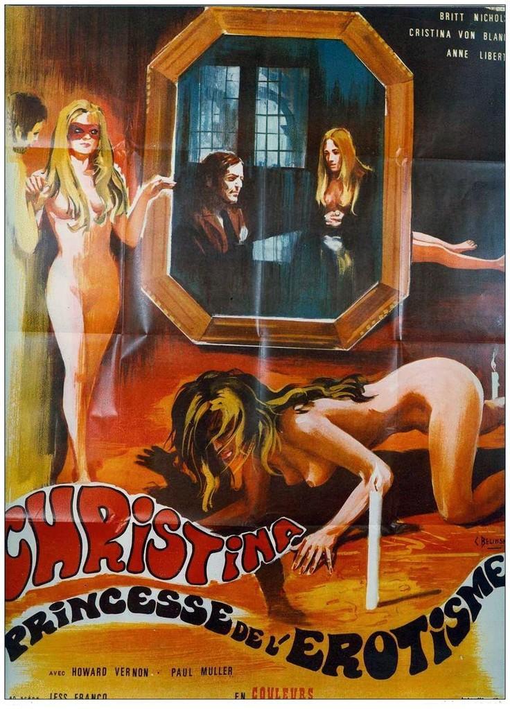 Christina princesse de l'érotisme (Une vierge chez les morts-vivants)