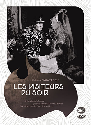 Los Visitantes de la noche - © Jaquette Dvd