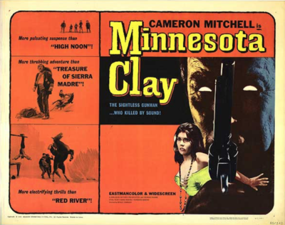Minnesota Clay - Poster Etats-Unis