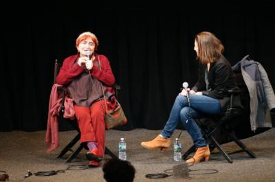 Très belle édition des 22e Rendez-Vous With French Cinema à New York - Agnès Varda face aux scolaires - © Bestimage