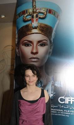 Juliette Binoche e Isabelle Huppert galardonadas en el Cairo