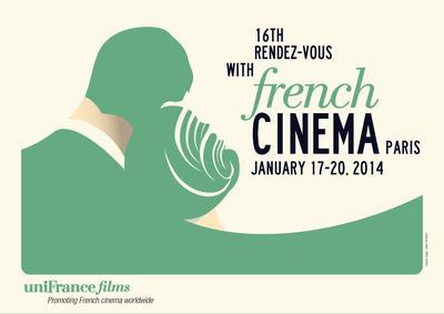Rendez-vous du cinéma français (Encuentro de cine francés) - Paris - 2014