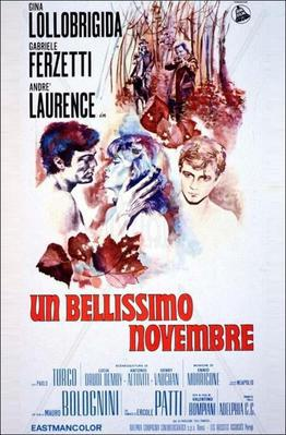 The Splendid November - Poster - Italy