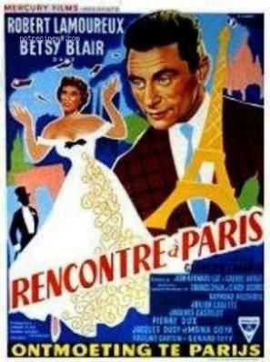 Rencontre à Paris - Poster Belgique