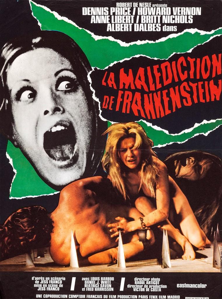La Malédiction de Frankenstein (Les Plaisirs de la nuit)