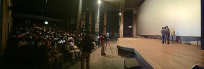 Review of the 1st Rendez-Vous with Francophone Cinema in Abidjan - Présentation de Wùlu au cinéma Magic Cinema Babemba de Bamako, devant 800 personnes ! - © UniFrance
