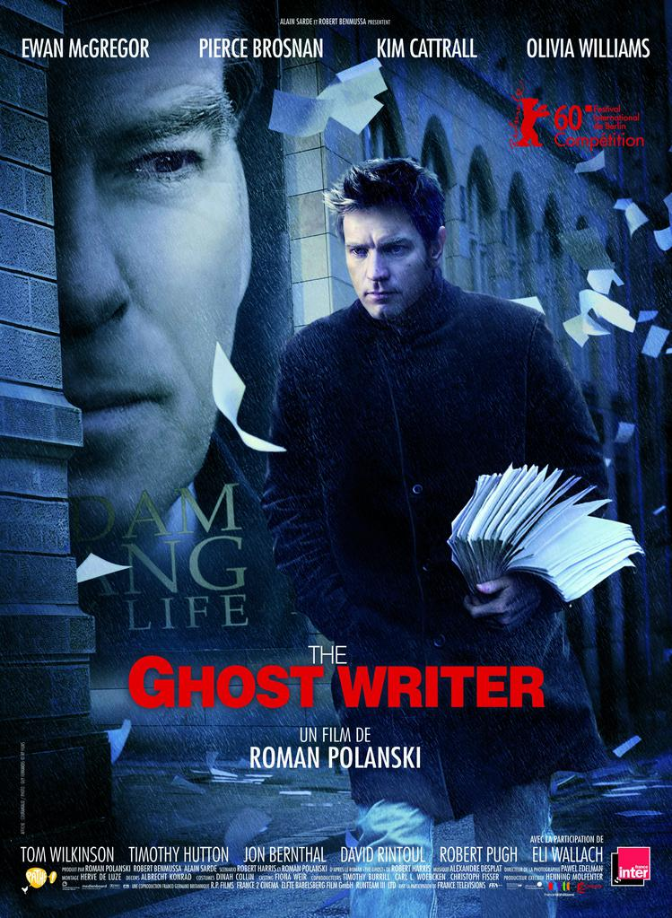 The Ghost Writer Affiche France