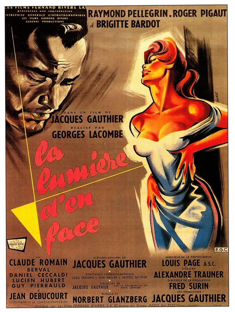 La lumi re d 39 en face 1955 unifrance films for La b b