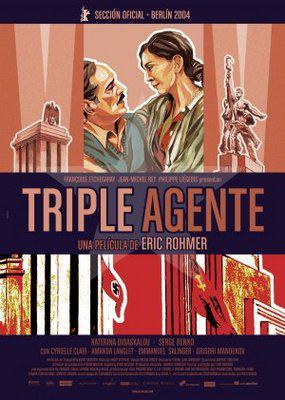 Triple Agent - Poster Espagne