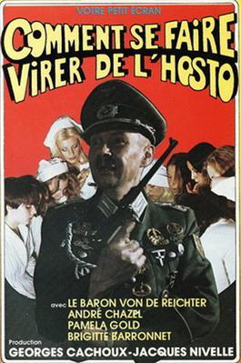 Comment se faire virer de l'hosto (ou Le Chouchou de l'asile) - Jaquette VHS
