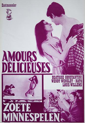 Psychédélissimo - Poster Belgique