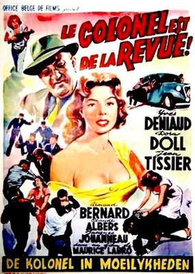 Le Colonel est de la revue - Poster Belgique