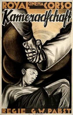 La Tragédie de la mine - Poster Allemagne