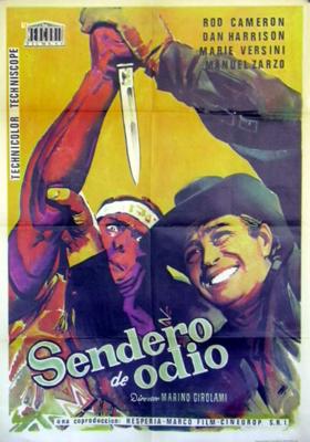 Les Sentiers de la haine - Poster - Spain