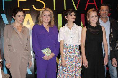 Prestigious delegation at the French Film Festival in Brazil
