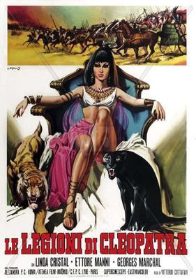 Les Légions de Cléopâtre - Poster - Italy