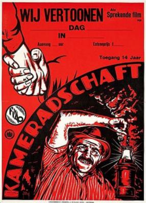 La Tragédie de la mine - Poster Pays-Bas