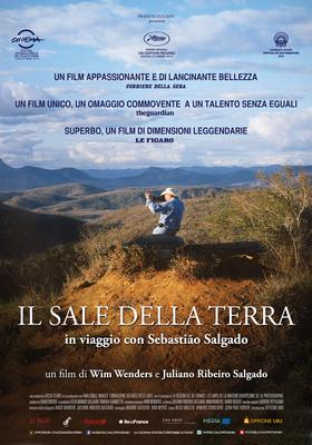 The Salt of the Earth - poster - Italy