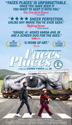 Faces, Places - Poster - USA