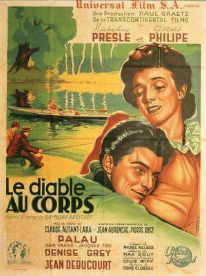 El Diablo en el cuerpo - Poster France